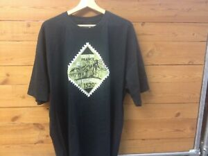 Cycling Tee shirt, Tour de France, 100% cotton, Black sizes L, 2XL. Brand New