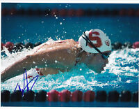 Felicia Lee Signed 8.5x11 Photo USA Swimming Rio Olympics Stanford Cardinal