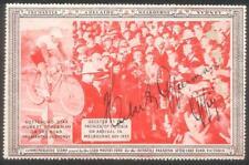 Hubert Opperman Signature On 1937 Lord Mayors Fund Cinderella