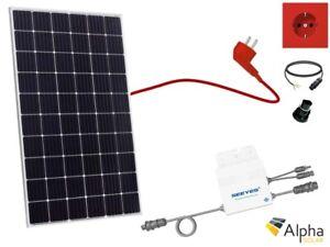 315W Solaranlage Jinko Solar Mono Balkonkraftwerk PV Hausanlage EVT-300 WR