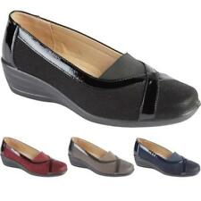 Round Toe Faux Suede Flats for Women