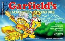 Garfield's Halloween Adventure (Formerly Titled Garfield in Disguise) by Jim Dav