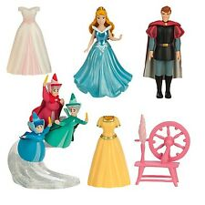 NEW Disney Parks Princess Aurora Sleeping Beauty deluxe figure mini doll set