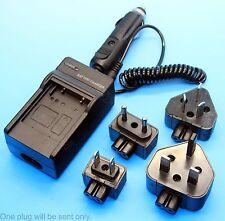 Home+Car Battery Charger for Canon EOS 1000D 2000D 450D 500D LP-E5 LC-E5 AC/DC
