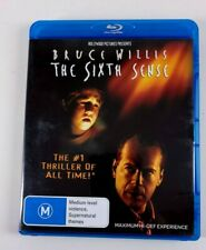 The Sixth Sense - All Region Blu-Ray Australian Import -Bruce Willis - Us Seller