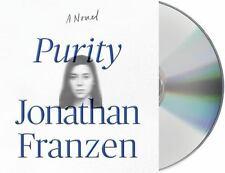 "PURITY by Jonathan Franzen (2015, CD, Unabridged) new 20 CD audio book ""Purity"""