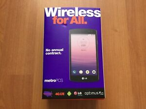 LG Optimus F60 MS359 - 8GB - Black (MetroPCS) Smartphone Free Shipping