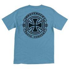 Independent Trucks Steady Skateboard Shirt Carolina Blue Medium