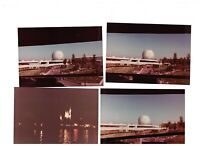 Walt Disney World & Epcot Center Snapshot Photo Lot of 7 Florida