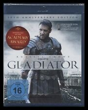 BLU-RAY GLADIATOR - 10th ANNIVERSARY EDITION - 2 DISC SET - RUSSELL CROWE * NEU