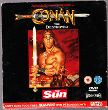 095 DOUBLE PROMO DVD  CONAN THE DESTROYER / HIGHLANDER