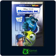 Monsters Inc (DVD) Billy Crystal - John Goodman - Comedy - Family - Region 4
