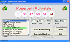 Lottra - Lottery # Picker All States Powerball EuroMillions on CD or USB Windows