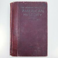 The Leading Fact of American History Antique Book 1899 Ginn Company Text Book