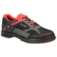 Dexter THE 9 HT Black/Red/Grey Men's Wide Bowling Shoes