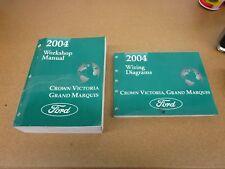 2004 Ford Crown Victoria Grand Marquis shop service diagram wiring manual