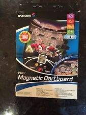 New listing NEW TRITON MAGNETIC DARTBOARD - 3 GAMES IN 1 ! BASEBALL FOOTBALL BASKETBALL