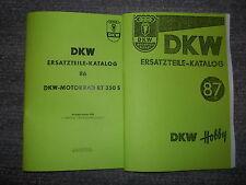 Ersatzteil-Katalog Krad DKW RT350S & Roller DKW Hobby