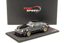 Porsche 934 Baujahr 1976 schwarz 1:18 TrueScale