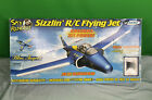 """Estes Rockets Blue Angels 30"""" Sky Rangers Sizzlin R/C Flying Jet As Is Airplane"""