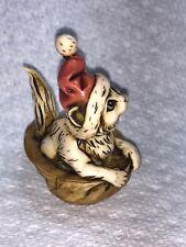 Harmony kingdom art Neil Eyre Designs Christmas Santa Kitty cat nut shell Sale