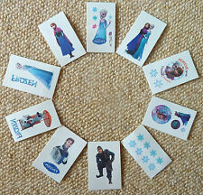 DISNEY FROZEN ELSA ANNA OLAF SET OF 10 TATTOO STICKERS,PARTY BAGS,XMAS GIFT