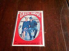 (1) 1966 Topps-The Green Hornet Sticker #39 Case & Britt (Vg-Ex) Set Break