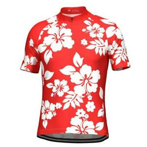 Hawaiian Shirt Aloha Floral Cycling Jersey