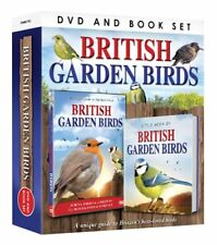 Unique Guide to British Garden Birds DVD & Book Set Birdwatcher Twitcher