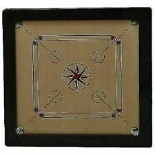 "32""x 32"" Big Tournament carrom board with carrom coin and striker"