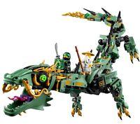 LEGO NEW Ninjago Green Ninja Mech Dragon 70612 Building Kit  Blocks Toy 592 Pcs