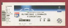 Orig.Ticket   Champions League 2008/09   OLYMPIQUE LYON - AC FLORENZ  !!  SELTEN