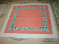 "1940'S Vintage Startex Tablecloth Large 46"" W By 50"" Long, Fruit designed"