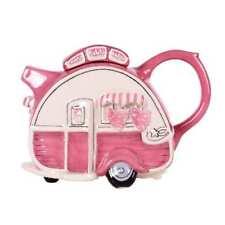 Blue Sky Clayworks - Caravan Teapot Pink - 14725