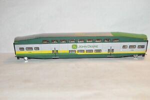 HO scale Athearn RTR John Deere Tractors Bombardier commuter passenger car train