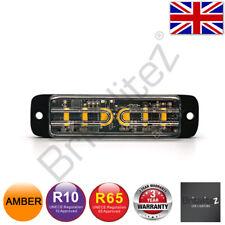 LED Warnleuchte, Grill, Richtungs-, UK Verkäufer, 6 5W, Super Bright, Bernstein