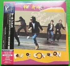 The Kinks - State of Confusion (1983) JAPAN Mini LP CD (2007) NEW +2 bonus