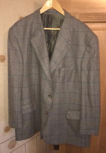Johnstons Of Elgin 100% Cashmere Jacket 50R UK-XXL