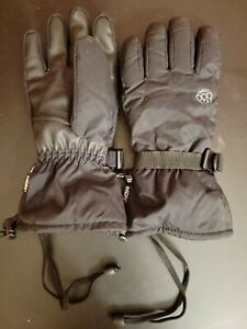 InfiDRY 686 Snowboarding Gloves BLACK Size Large THERMAL RATING WARMER