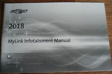 2018 CHEVROLET MYLINK INFOTAINMENT SYSTEM MANUAL SUPPLEMENT GUIDE NEW TAKE OUT