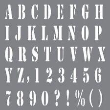 """Deco Art Andy Skinner Letras A-Z, letras de la plantilla de 6"""" X 6"""" tiene su decir"""