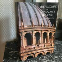 Arquitectura de La Renacimiento Italian Brunelleschi Michelangelo Flammario 1995