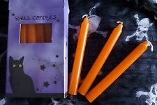 Magic Spell Candles (Orange) Pack of 12 * Pagan / spells / wish / luck / wicca