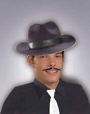 Gangster Moustache 1920's Pencil Mustache Great Gatsby Stache 100% Human Hair