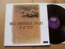 ZZ TOP,RIO GRANDE MUD lp m-/m- london rec. SHU 8433 England 1972 Erstdruck