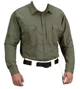 Propper Kinetic Long Sleeve Tactical Duty Army Uniform Button Down Shirt M F5371