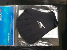 SPEEDO Aqua Gloves Aquatic Mitts -  Swimming Resistance Training Aid (034886)