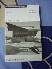 CONTEMPORARY ARCHITECTURE IN TURIN 3 Modern A. De Rossi