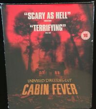 CABIN FEVER Blu-Ray SteelBook Unrated Directors Cut Zavvi UK Region ABC Eli Roth