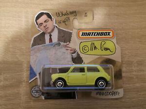 2020 Matchbox Mini Cooper - 1:64 1/64 MBX Mr. Bean 30/100 Green